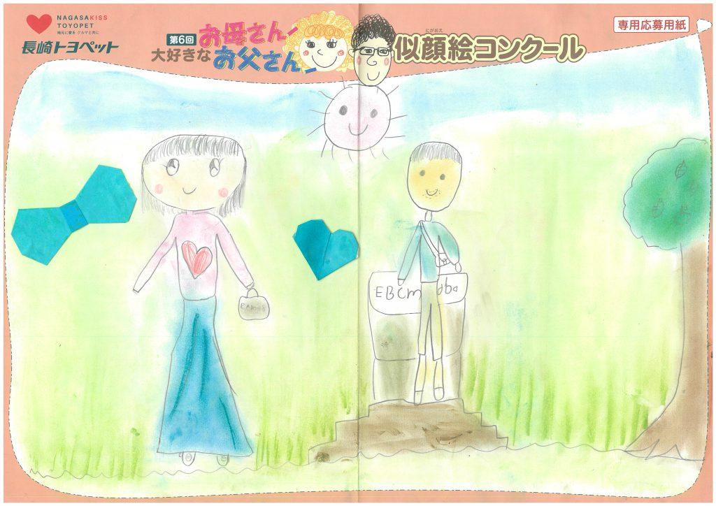 N.Hちゃん(7才)の作品