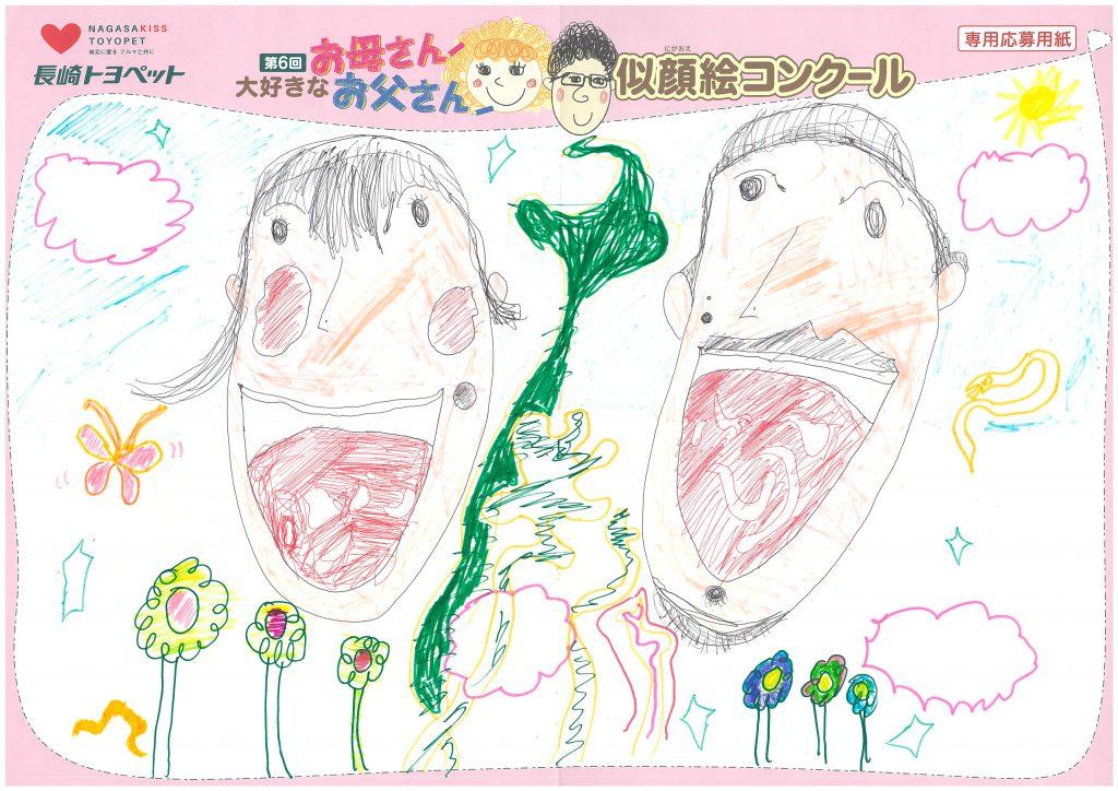 E.Aくん(5才)の作品