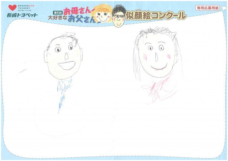 Y.Tちゃん(3才)の作品