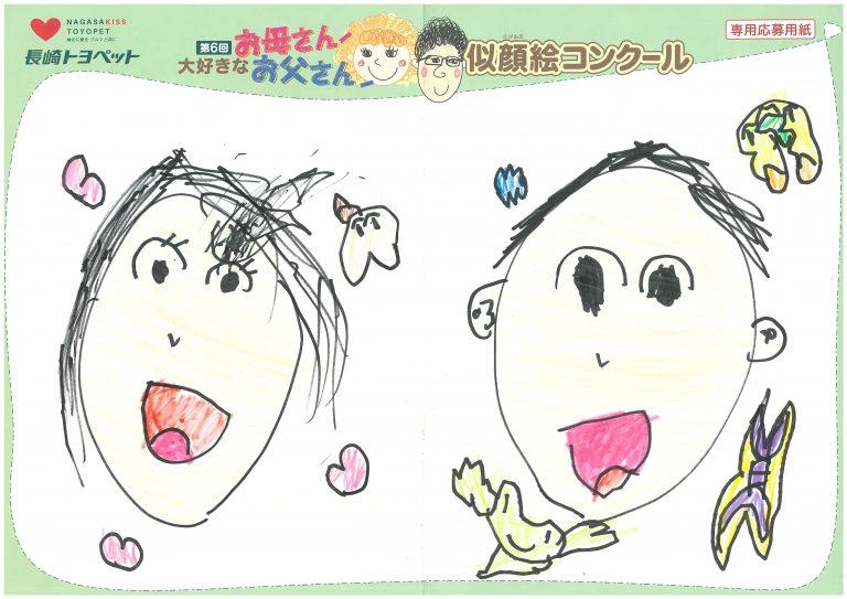 M.Nくん(6才)の作品