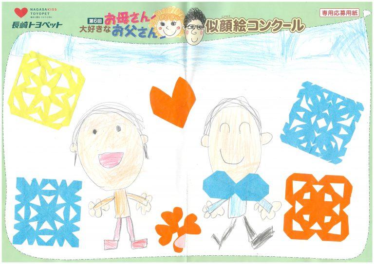 S.Iくん(6才)の作品