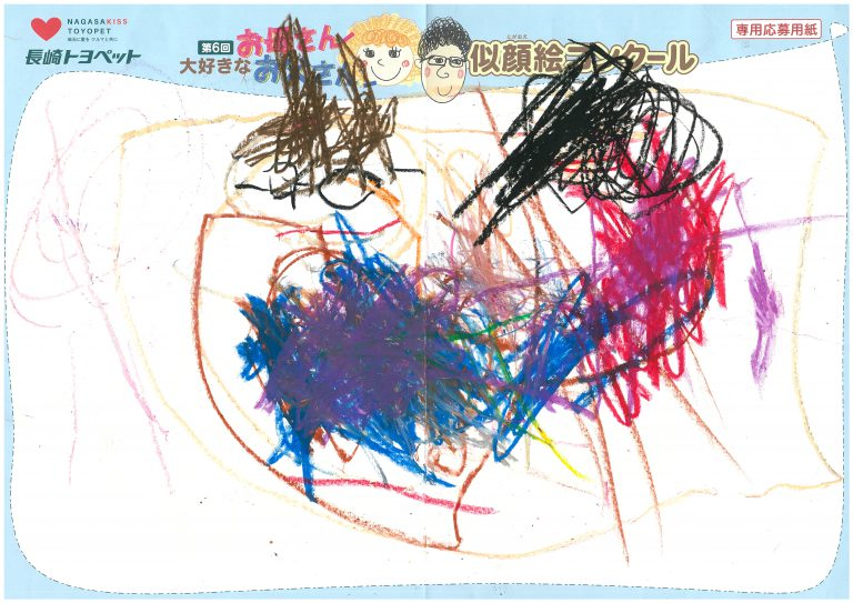 I.Kくん(3才)の作品
