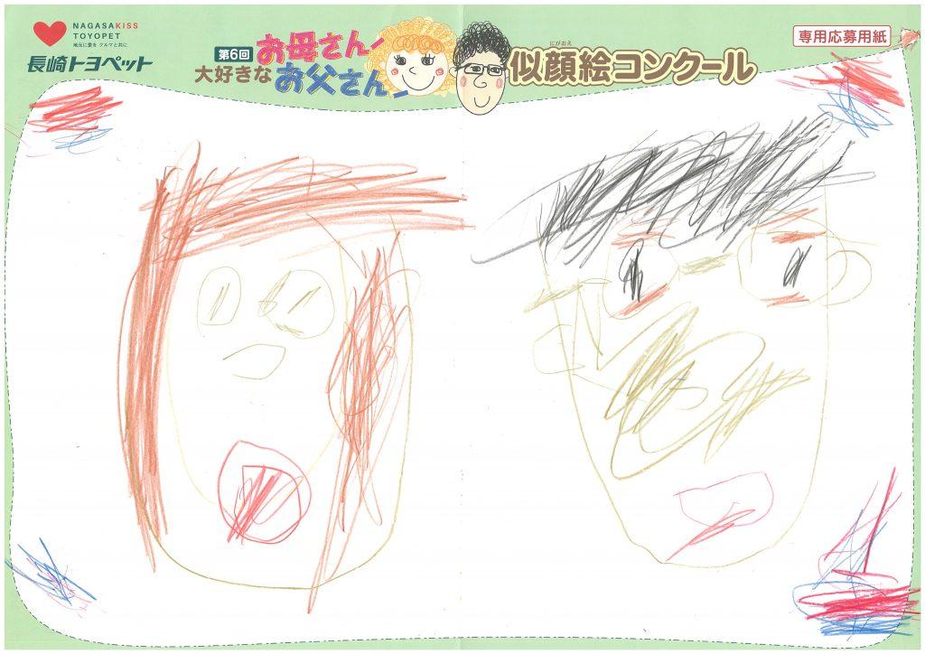K.Nくん(4才)の作品