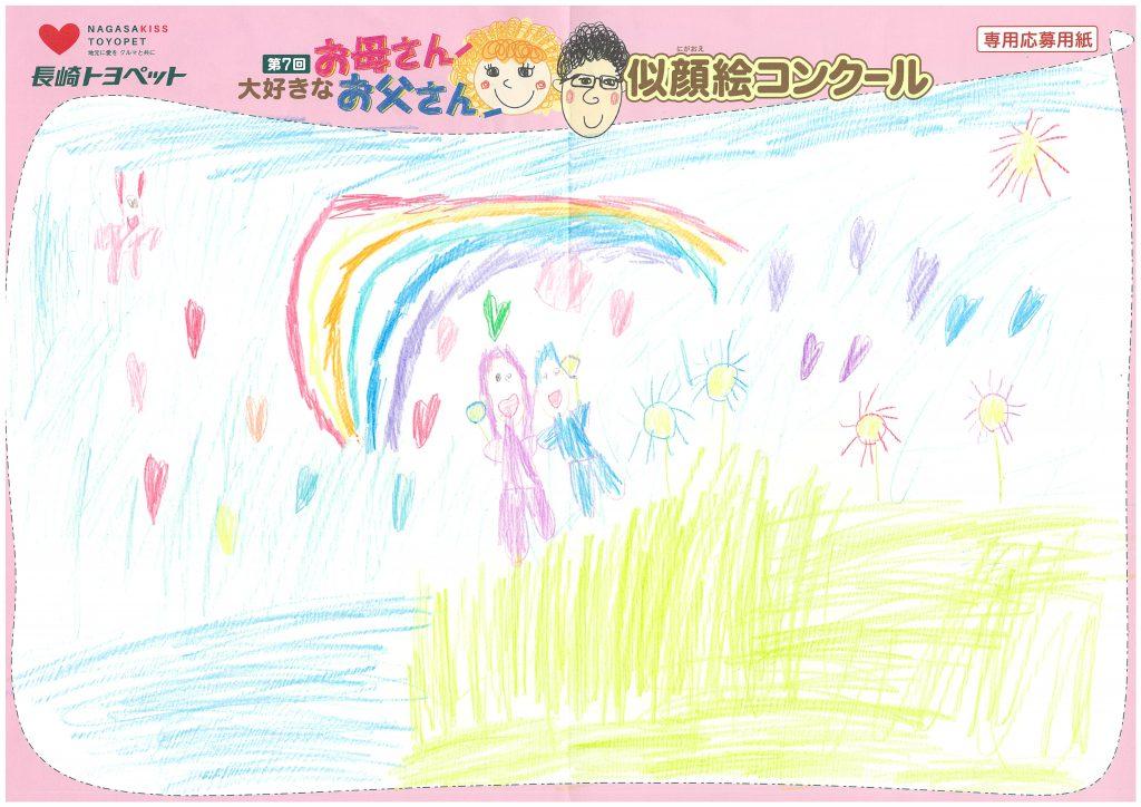 H.Oくん(7才)の作品