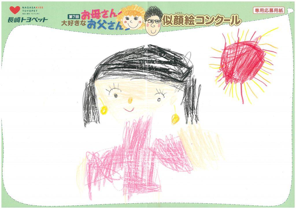 H.Iちゃん(6才)の作品