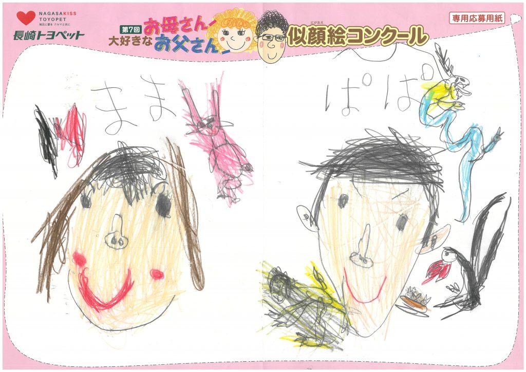 K.Mくん(5才)の作品