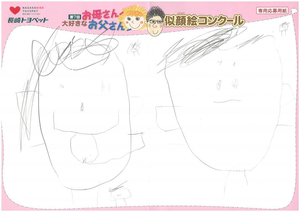 H.Yくん(4才)の作品