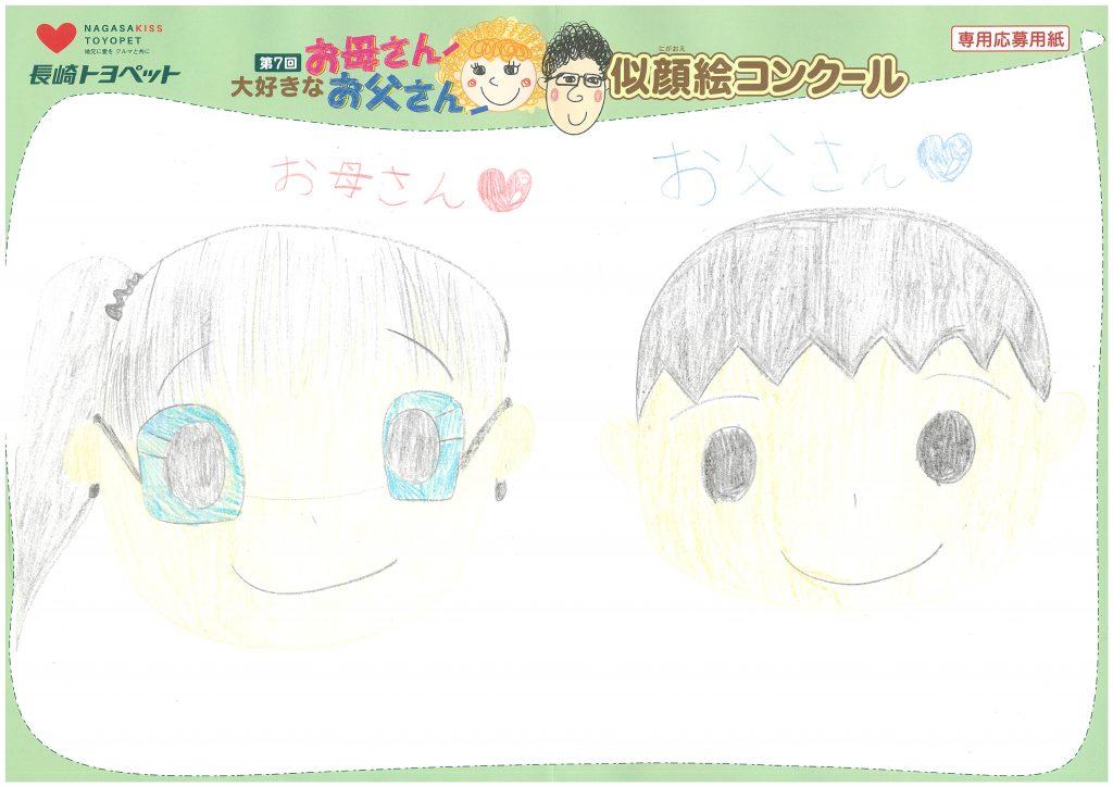 K.Iちゃん(9才)の作品