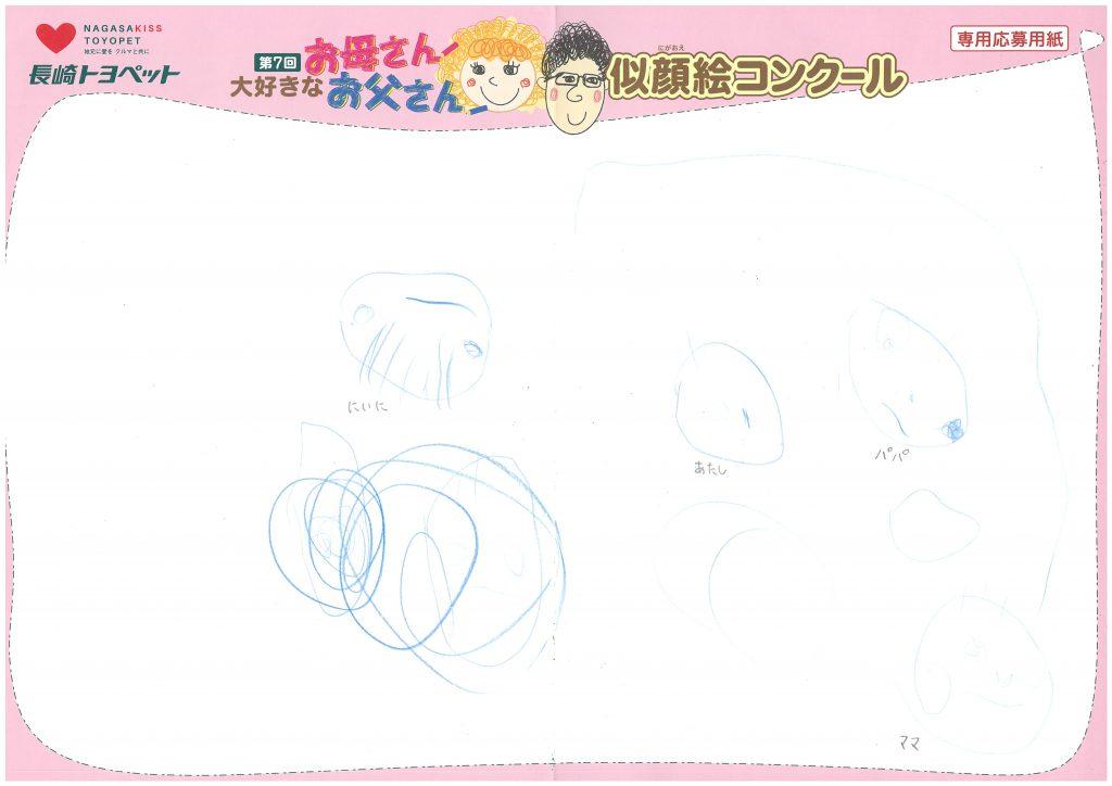 Y.Hちゃん(2才)の作品
