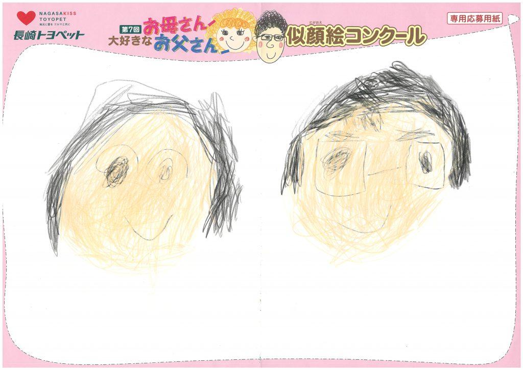 N.Kちゃん(5才)の作品