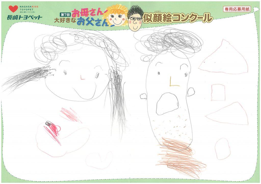 Z.Kくん(4才)の作品