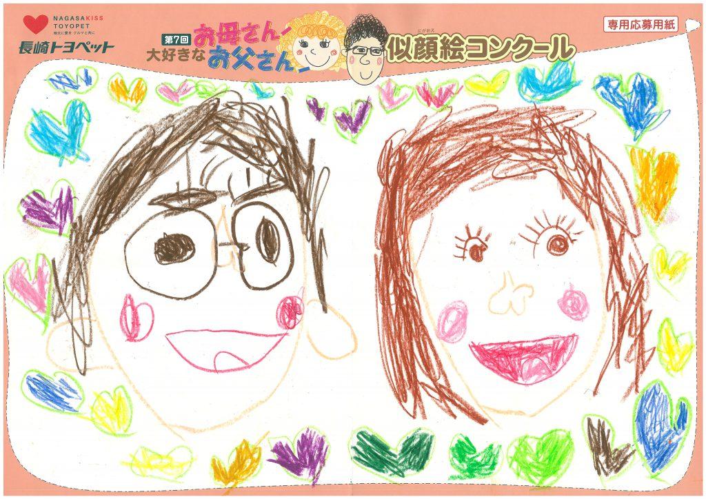 K.Yちゃん(5才)の作品