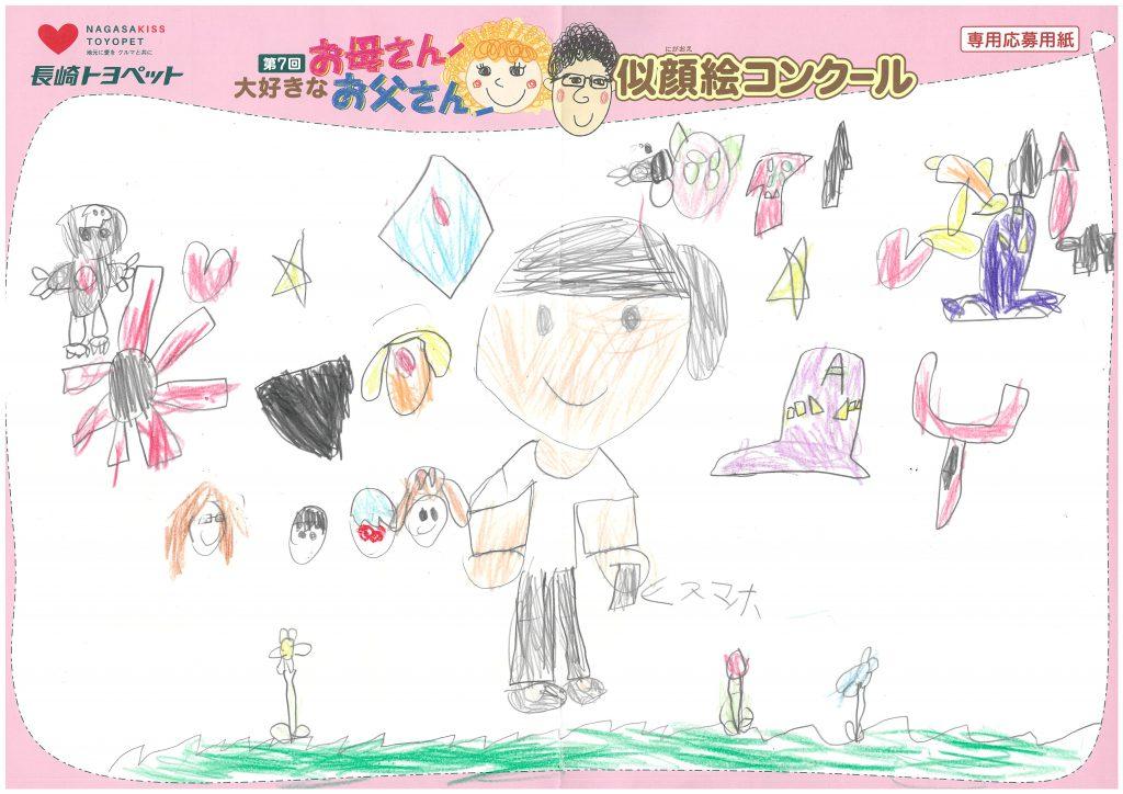 H.Hちゃん(7才)の作品