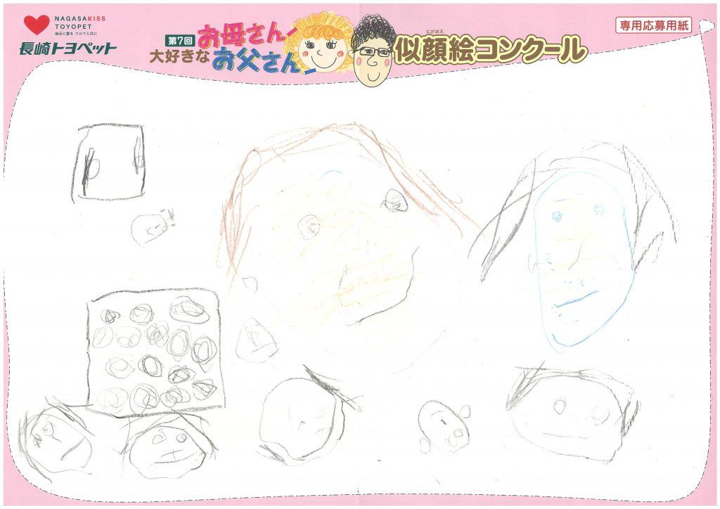 A.Yちゃん(3才)の作品