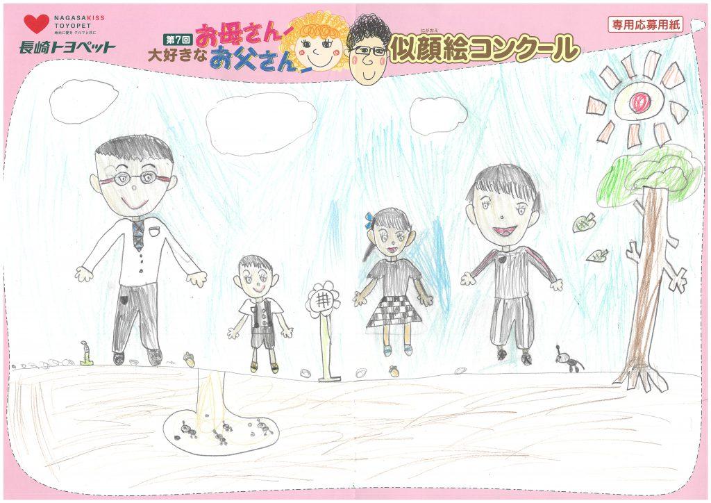M.Kちゃん(7才)の作品