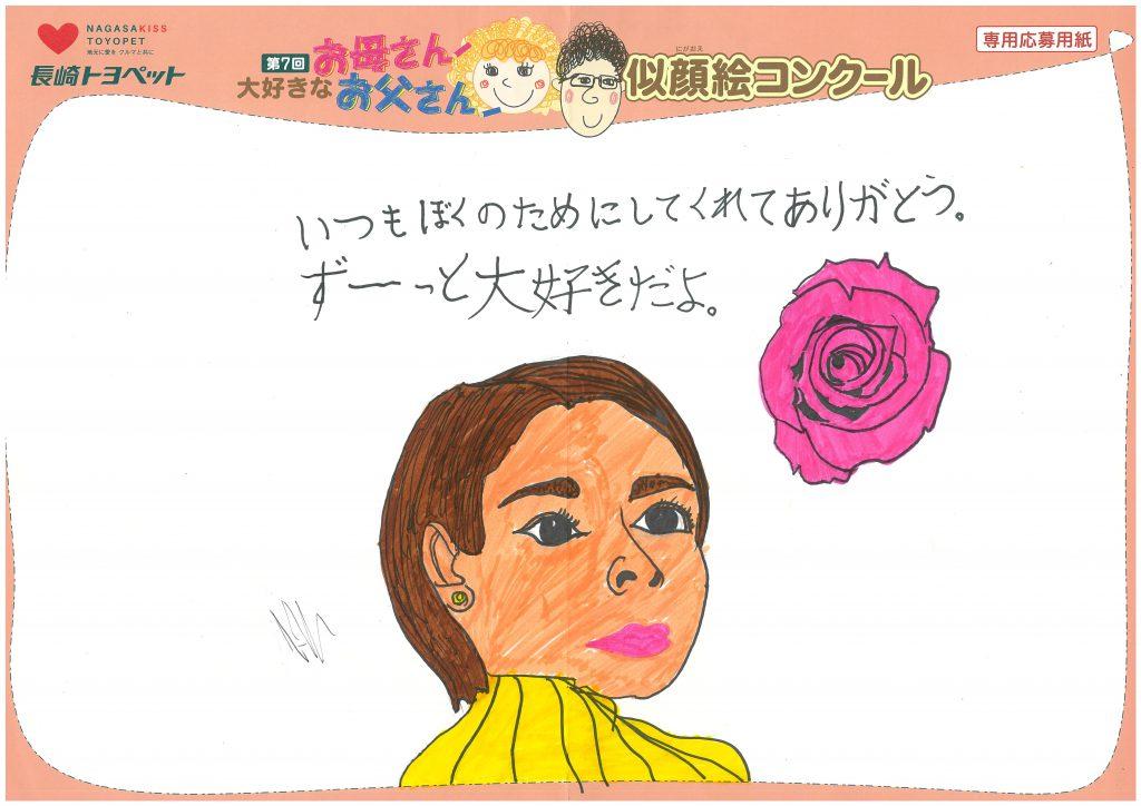 R.Hくん(10才)の作品