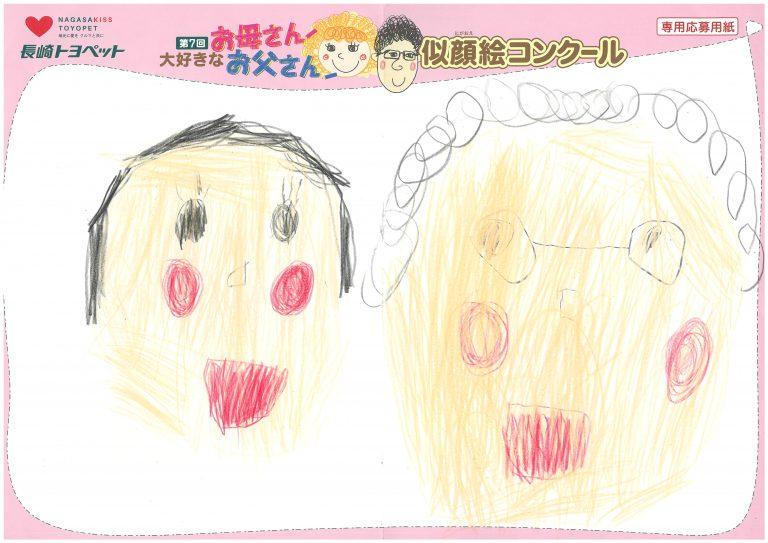 I.Kちゃん(4才)の作品