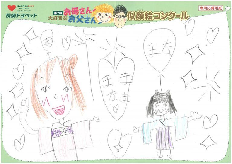 M.Eちゃん(6才)の作品