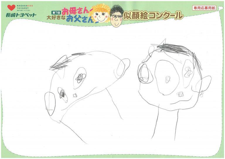 E.Kくん(3才)の作品