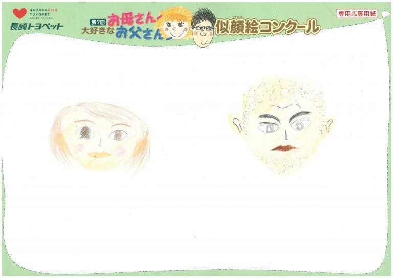 S.Kちゃん(11才)の作品