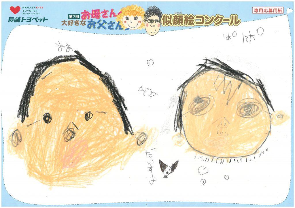 H.Sくん(5才)の作品