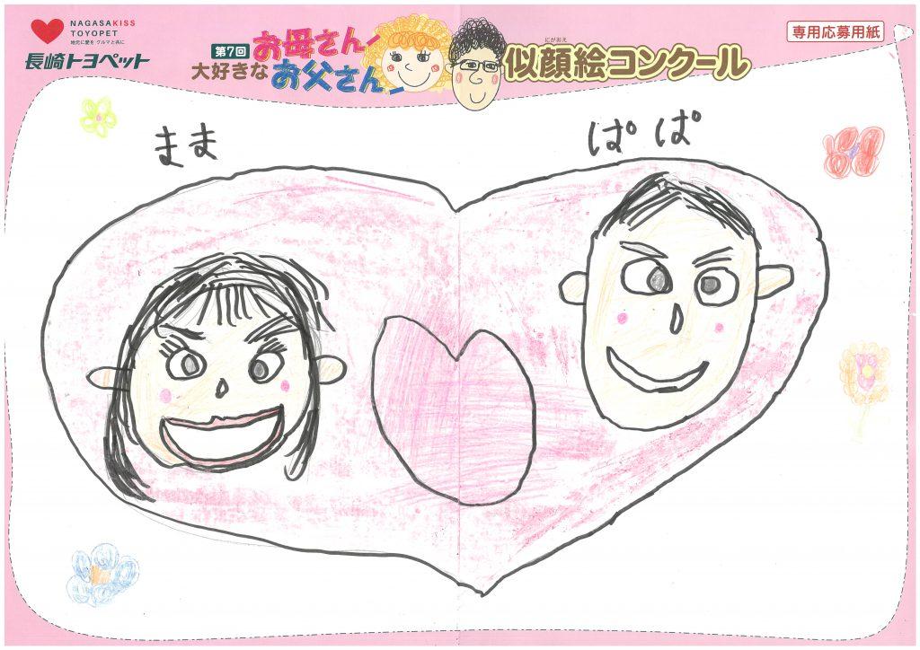 N.Mくん(7才)の作品