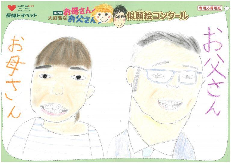 K.Tちゃん(10才)の作品
