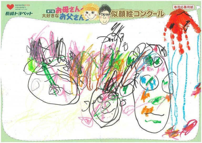 R.Kちゃん(2才)の作品