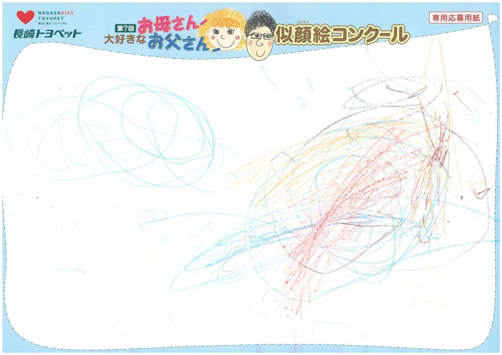T.Kちゃん(2才)の作品