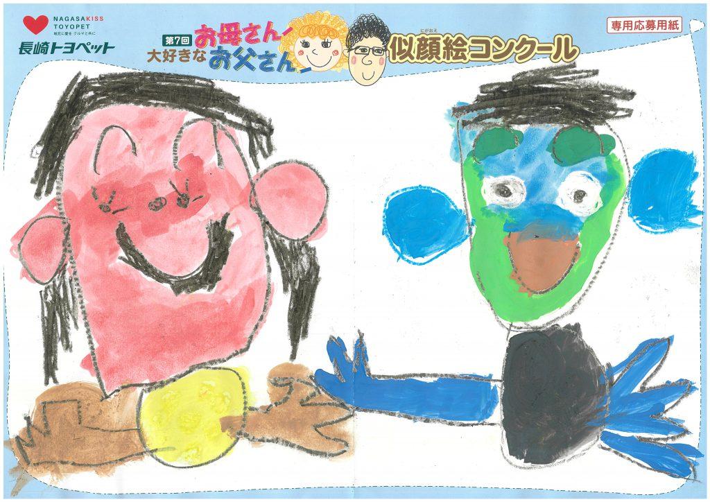 R.Nくん(5才)の作品