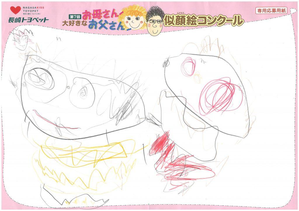H.Kちゃん(3才)の作品