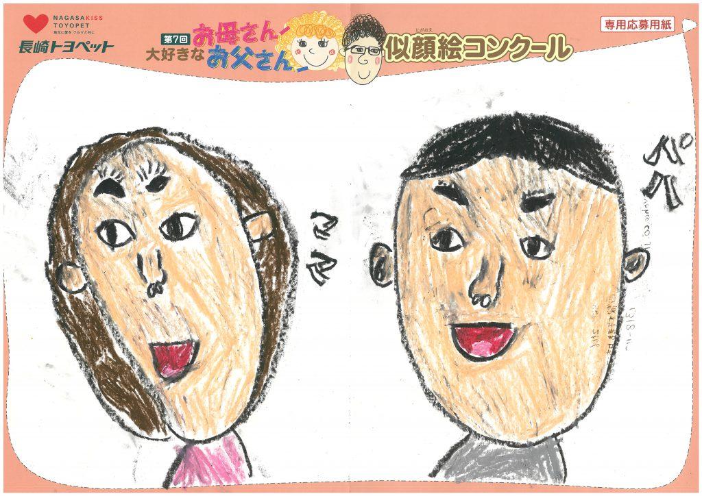R.Iくん(7才)の作品