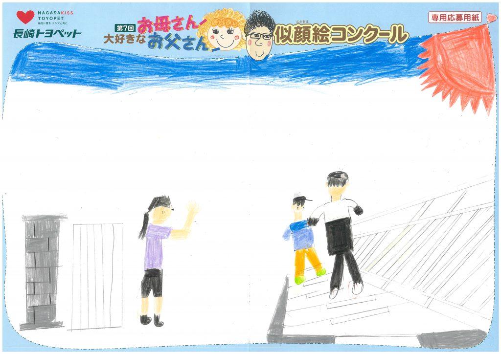 W.Mくん(8才)の作品