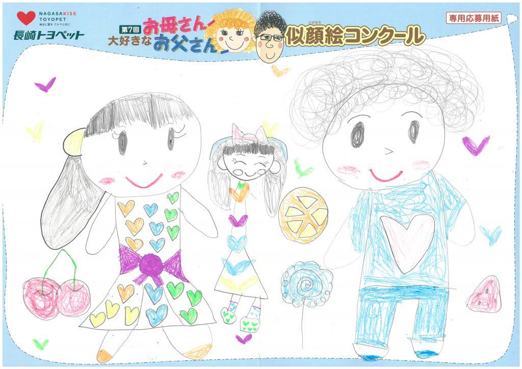 M.Aちゃん(6才)の作品