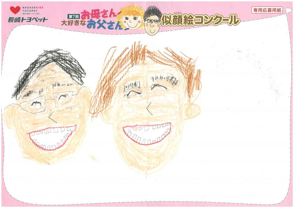 E.Tくん(7才)の作品