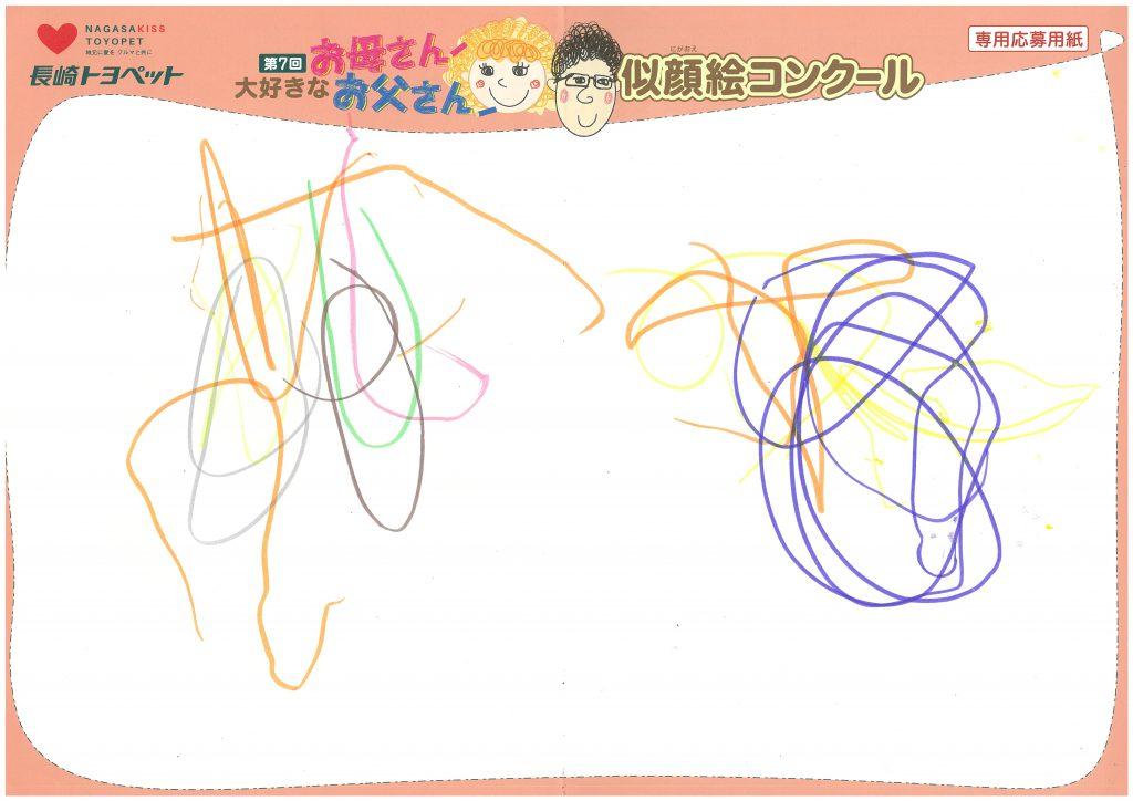 H.Yちゃん(1才)の作品