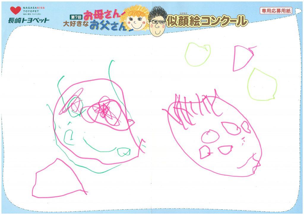 R.Yちゃん(3才)の作品