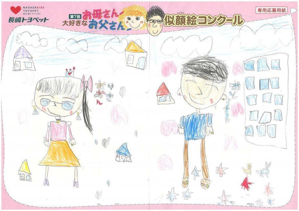 N.Oちゃん(5才)の作品