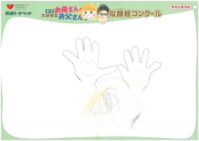 I.Iちゃん(2才)の作品