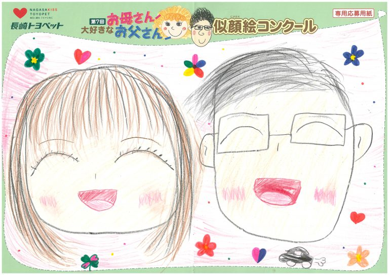 M.Tちゃん(10才)の作品