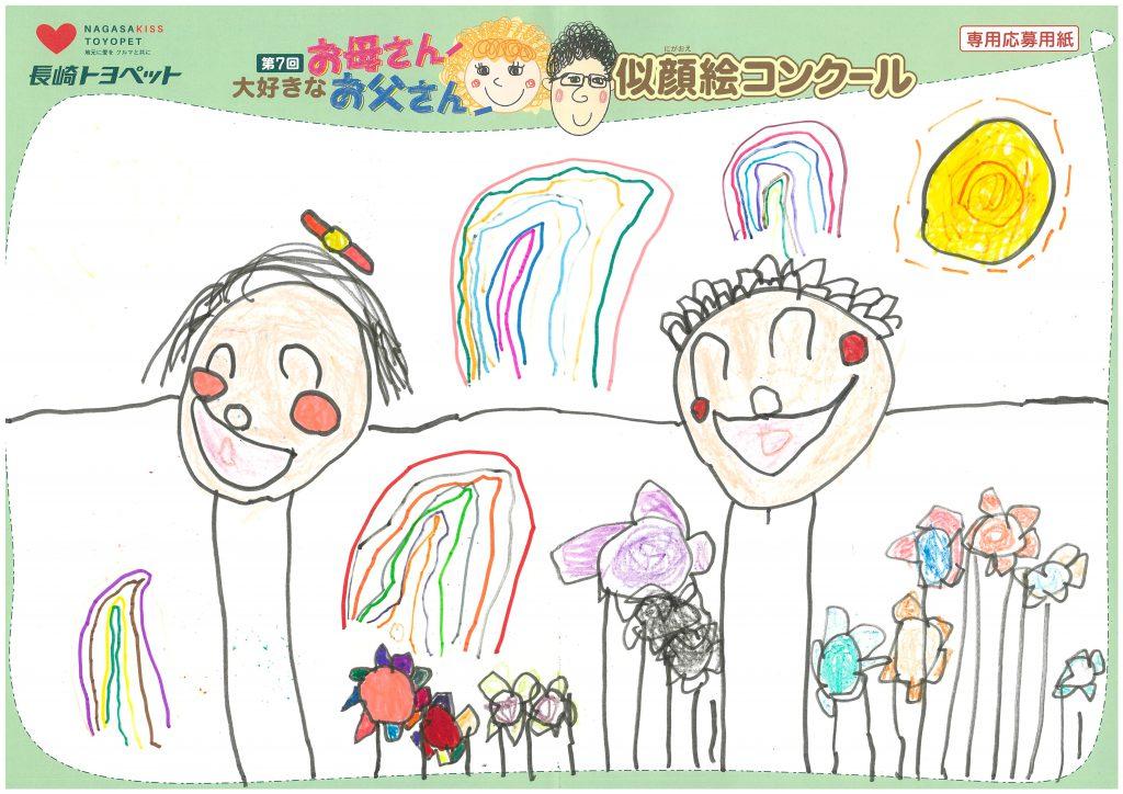 M.Kちゃん(5才)の作品