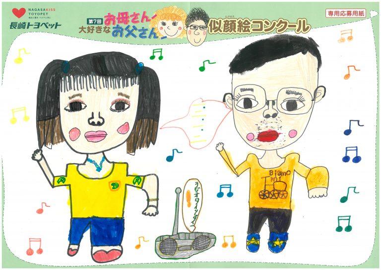 H.Mちゃん(8才)の作品