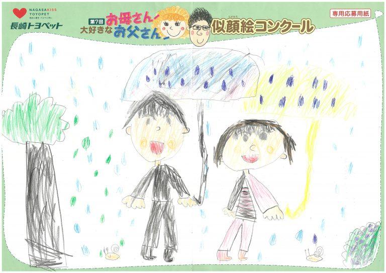 M.Wちゃん(6才)の作品