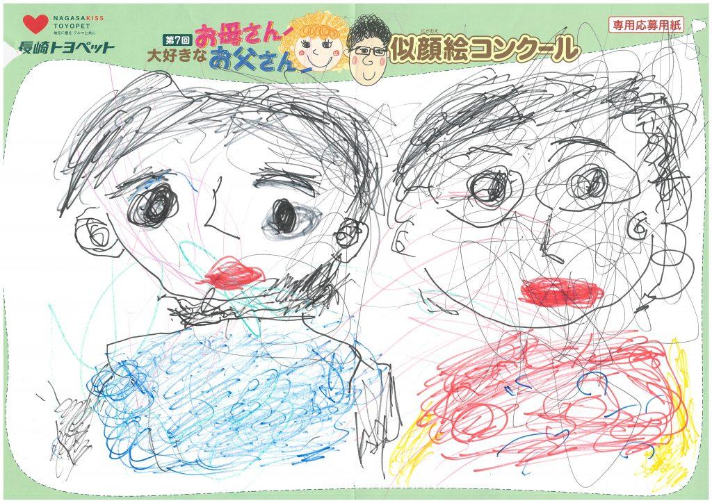 R.Kくん(2才)の作品