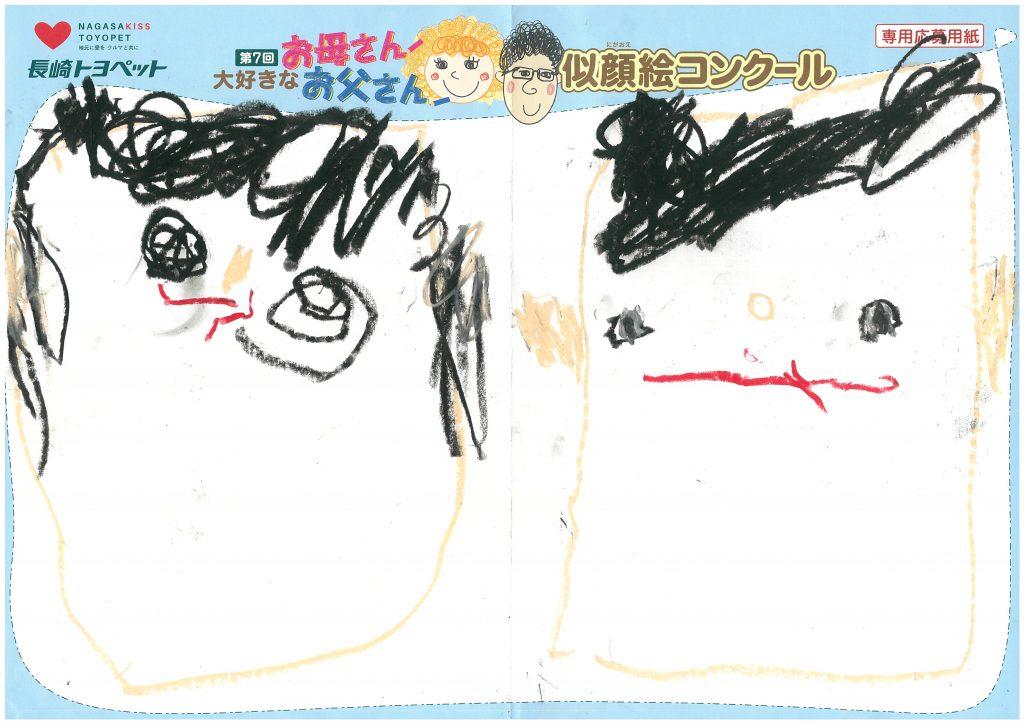 Y.Iくん(4才)の作品