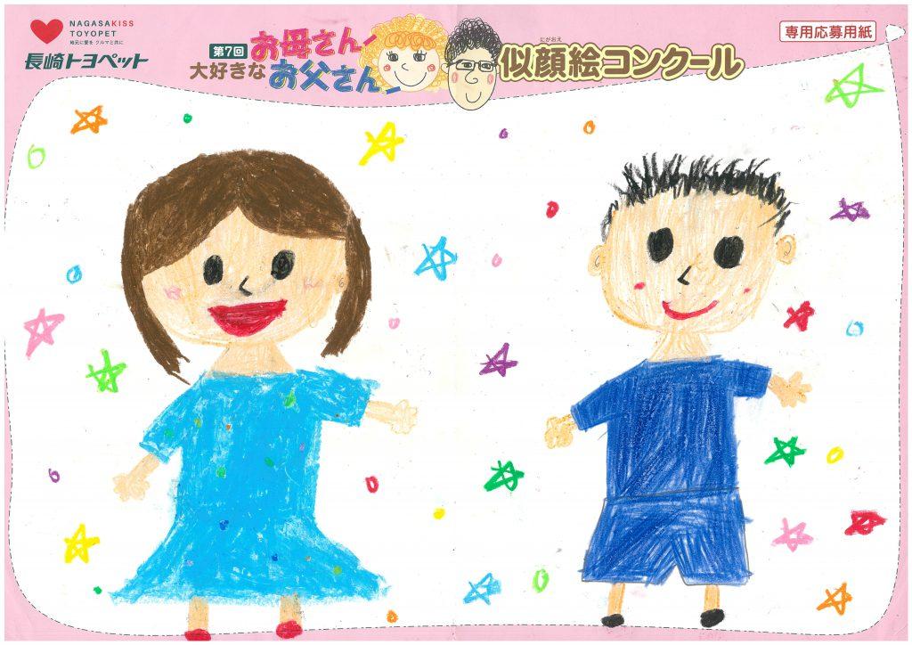 Y.Iちゃん(9才)の作品