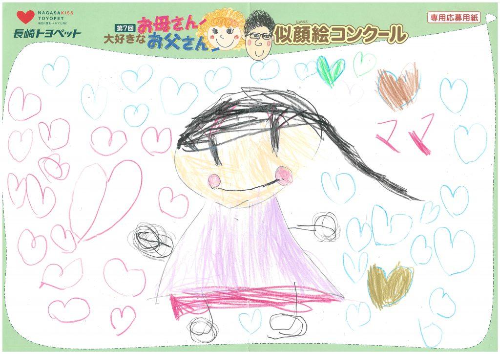 E.Mちゃん(5才)の作品