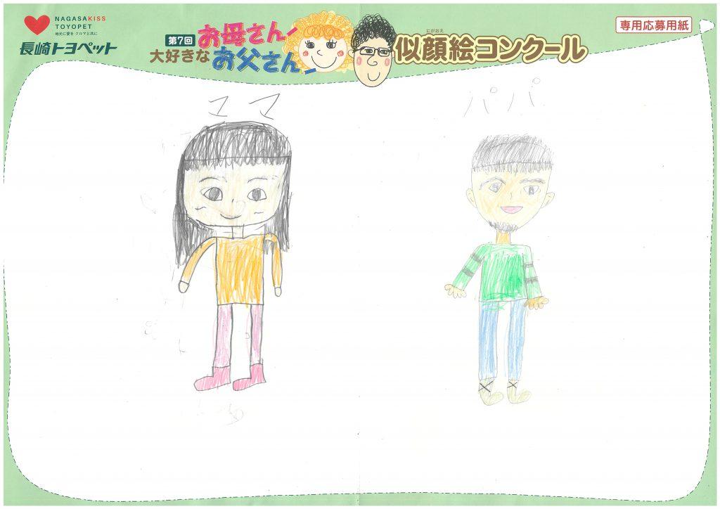 M.Sちゃん(7才)の作品
