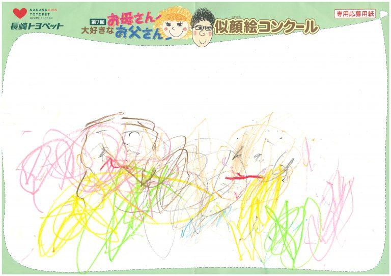 K.Iくん(1才)の作品