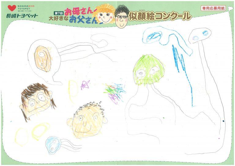 S.Iくん(4才)の作品